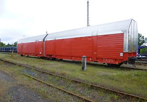 DB Cargo Logistics Equipment Hccrrs 328