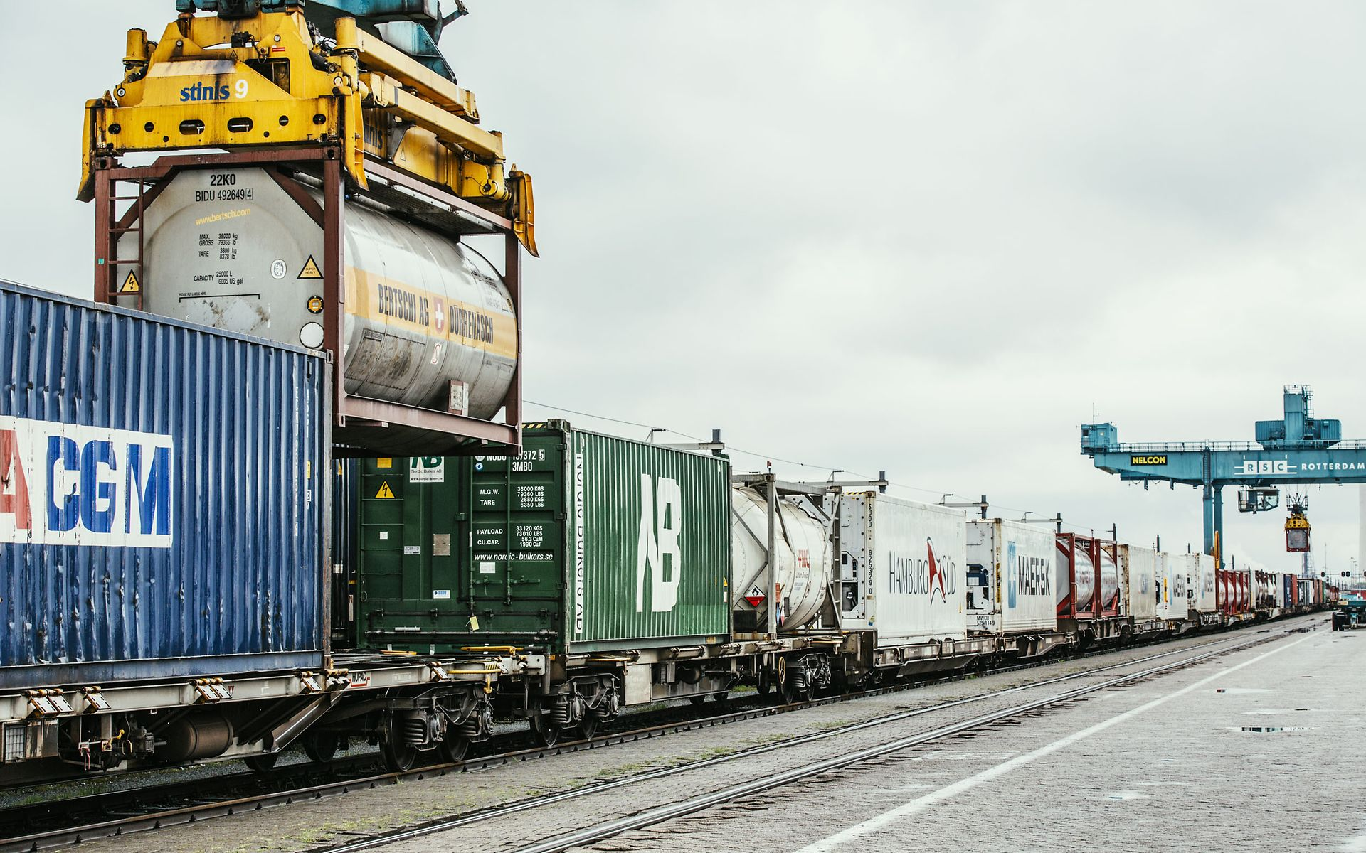 Intermodal chemical loading