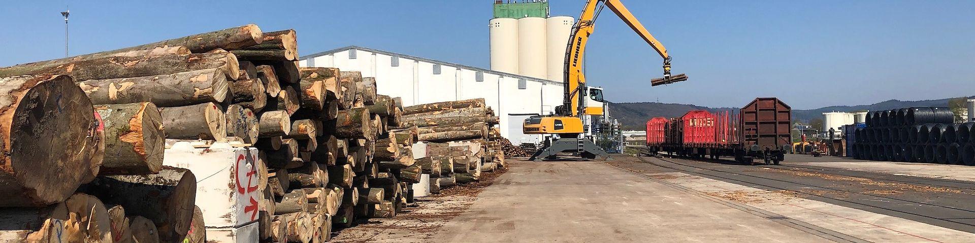 Timberport Trier DB Cargo