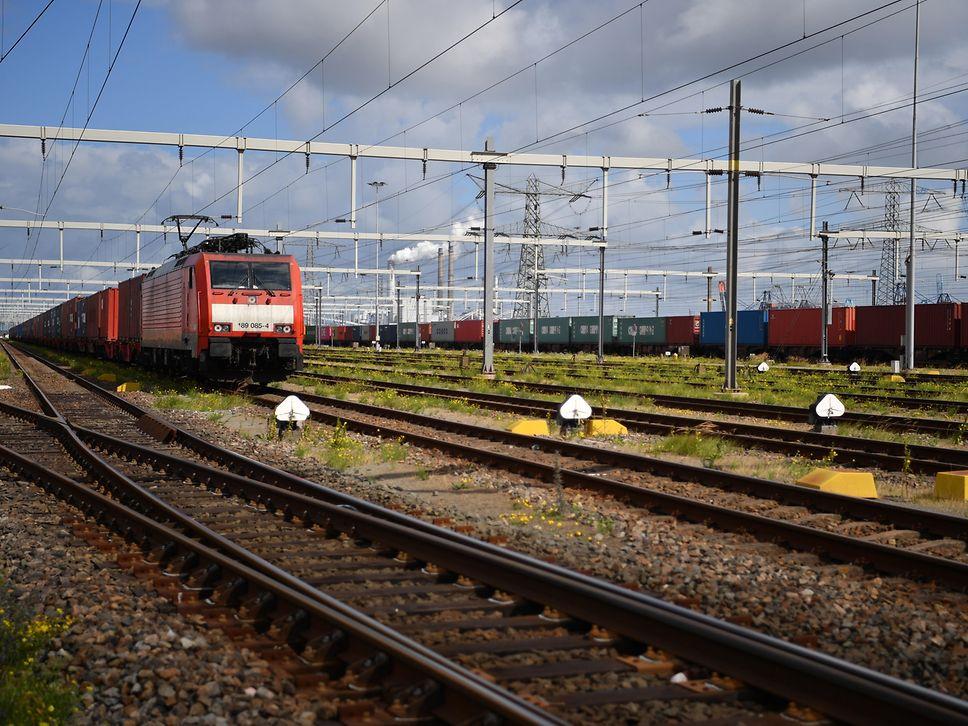 Güterverkehr mit EVplus im Einzelwagennetzwerk von DB Cargo